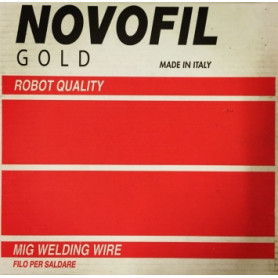 Novofil Srl non-alloy steel welding wire Novofil 0.8mm G3Si1, 15kg (price for 1kg)