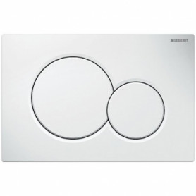 Geberit build in frame WC button Sigma01, 115.770.11.5