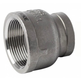 NT stainless steel threaded reduction sleeve 3/4x1/2
