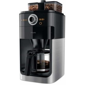 Philips coffee machine HD7769/00 Grind&Brew, 1000W, black