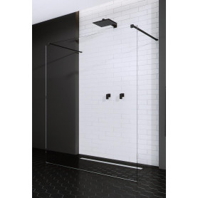 Radaway Modo I New Black 130 1300x2000 black / transparent dušas siena