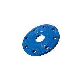 Industrial end flange, with thread DN100x2