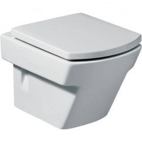 Roca Hall hanging WC toilet bowl, white 7346627000