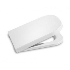 Roca Meridian Compact WC toilet seat, soft close, white 78012AC004