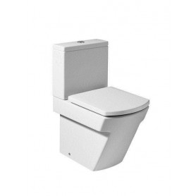 Roca Hall WC toilet bowl, universal outlet, white