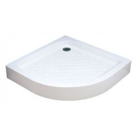 Vento round acrylic shower tray 80x80 Tivoli, R550, H-160mm