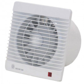 S&P ventilation fan Decor 300 CHZ, jalousie, with humidity sensor and time relay