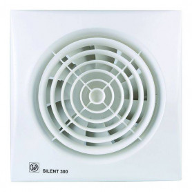 S&P ventilation fan Silent 300 CHZ, with humidity sensor, time relay and bearing motor