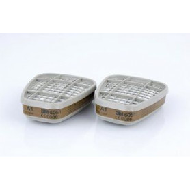 3M gas/ vapor filter 6051 A1, pair
