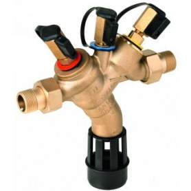 Honeywell backflow valve BA 1 1/4, with connection nuts
