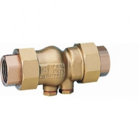 Honeywell backflow valve RV281 1 1/4, with connection nuts