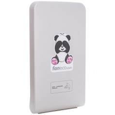 Faneco FBCTV PANDA folding baby changing station, vertical strengthened plastic (ABS), white