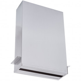 Faneco PZ800SJB HIT behind mirror, 800 towels ZZ stainless steel, satin
