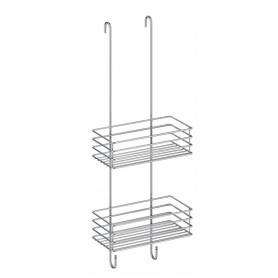 Smedbo B1210 Shower Storage Basket Hanging Rack Chrome-Plated Stainless Steel 66 x 25 cm