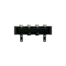 Herz 4 circuit heating manifold, with insulation, DN25, 934094