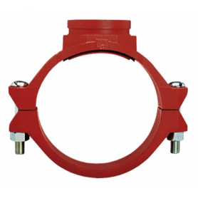 Tyco Grinnell connection clamp, with groove 114.3x60.3 FIG.730G, 730MG42201