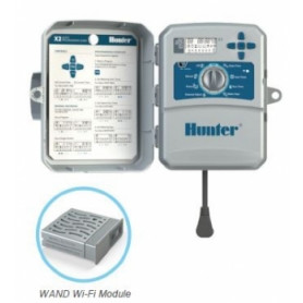 Hunter garden watering processor X2-401-E, for 4 lines, outdoor