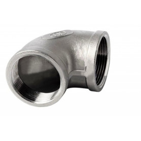 NT stainless steel threaded elbow 90 FF 1/8
