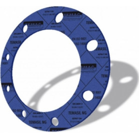 Weldable flange gasket Dn32, steam/ oil products, paranite