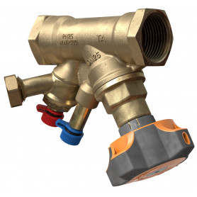 Tour&andersson Balancing valve STAD 1 1/4, with drainage
