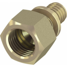 TECEflex 296410 axial system pipe transition, with inner thread 20x1/2