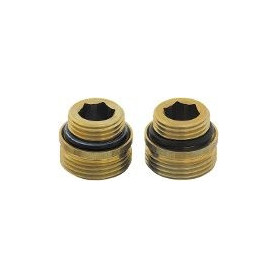 Herz brass nipple 1/2-3/4 MM, conical surface