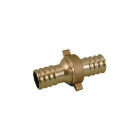 Rastelli double-sided brass connection 1/2- Ø15, with connection nut