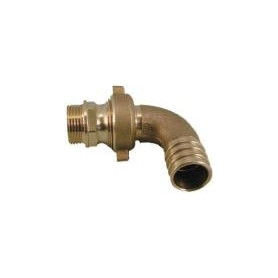 Rastelli angular brass connection M 1/2- Ø15, with connection nut