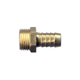 Rastelli brass connection M 1/4- Ø6