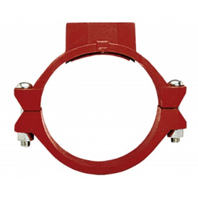 Tyco Grinnell connection clamp, with thread 88.9x1 FIG.730T, 730MT30101