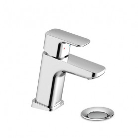 Ravak TD F 011.00 Washbasin mixer small with pop up waste, X070126