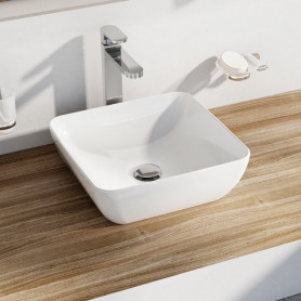 Ravak Washbasin Uni 380 S Slim ceramic white, XJX01138001