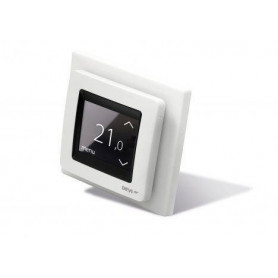 Thermostat DEVIreg™ Touch, +5...+45 °C, floor + room sensor, 16 A, without frame 140F1065