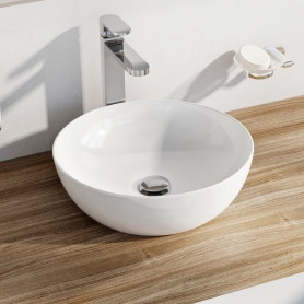 Ravak Washbasin Uni 400 B Slim ceramic white, XJX01140003