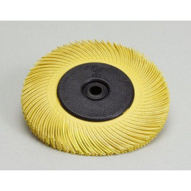 3M radial brush BB-ZB T-A, yellow, 150mm, P80, A60195