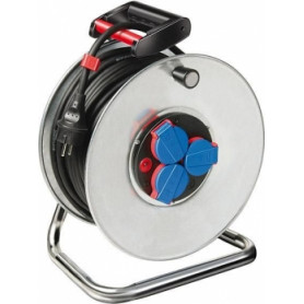 EDE extension cord on steel coil H05 RR-F 3G1,5 50m FORMAT