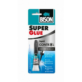 Bison līme SUPER GLUE CONTROL (3g), 1490215