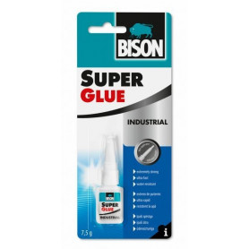 Bison līme SUPER GLUE PROFESSIONAL (7.5g), 1590126