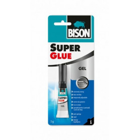Bison līme SUPER GLUE GEL (2g), 1590263