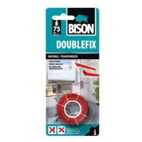 Bison līmlenta DOUBLEFIX invisible (1.5mx19mm), 6312504