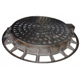 Metnetus cast iron hatch 600mm, non-floating