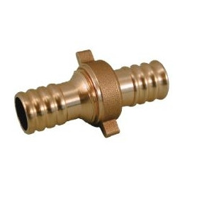 Rastelli brass connection D15x15mm, with connection nut
