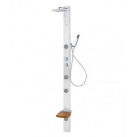 Poolspa LONG 200X10 System 1 flat shower panel