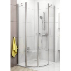 Ravak shower cabin, round CSKK4-80 (radius 500mm)