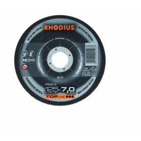 Rhodius coarse grinding disc RS24 125x7.0x22.23