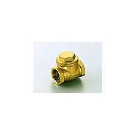 Non-return valve with flap 1, brass