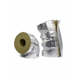 Paroc HVAC AluCoat thermal insulation elbow Ø 28mm/30mm