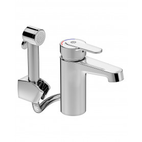 Gustavsberg Washbasin mixer w. handshower Nordic Plus GB41213761