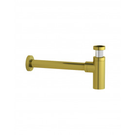 Gustavsberg Water trap wall brusched brass GB41109938 24