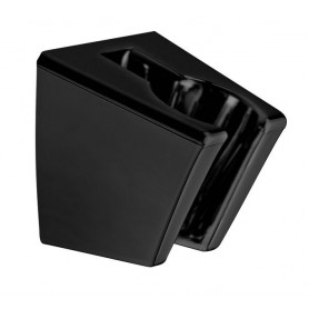 7661061 Wall mounted holder Matt Black